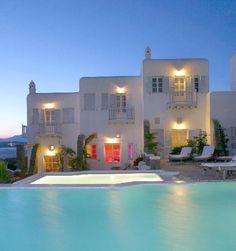 Apanema Resort in Mykonos, Greece