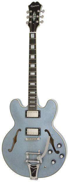 It will be mine, oh yes . . . ltd ed Epiphone ES-355 in Pelham Blue!