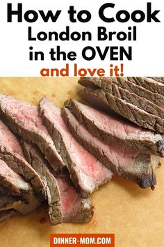 Wondering how to cook London Broil in the oven and get juicy, tender slices of beef? It's easy and we've packed all the tips in this tutorial including a fantastic marinade from our meal assembly stores. This guide is perfect for most steaks that you want to cook in the oven! #londonbroil #beefdinner
