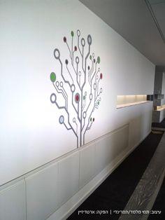 Environmental Graphic Design - Mentor Graphics, Israel