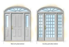 Georgian Federal doors