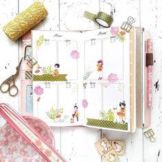 """Maky Lab Planner Corner 🌸🌿 su Instagram: """"È primaveraaaaa svegliatevi bambineeeee! Siiii finalmente inizia la mia stagione preferita fatta di temperature miti, fiori bellissimi…"""""""