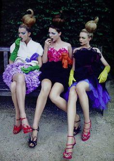 John Galliano for Christian Dior Haute Couture F/W 2010, Backstage. …