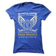 A Woman Who Graduated From Siena Heights University - #cheap gift #money gift. GET IT NOW => https://www.sunfrog.com/LifeStyle/A-Woman-Who-Graduated-From-Siena-Heights-University-Ladies.html?68278