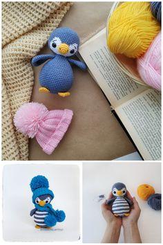 Amigurumi crochet pattern, tutorial, handmade toys by MilaToysPatterns Crochet Mouse, Crochet Bunny, Crochet Gifts, Crochet Animals, Crochet Dolls, Plush Animals, Handmade Soft Toys, Knitted Cat, Felt Toys