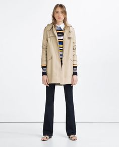Image 1 of WATER REPELLENT TRENCH COAT from Zara