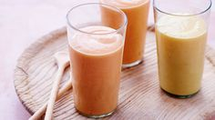 The ground cardamom in this refreshing papaya lassi brings out the flavor of the ripe fruit.
