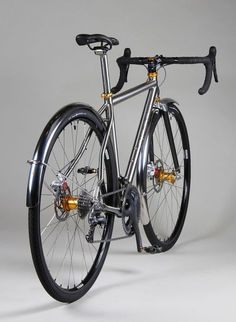 Man oh man. Now that's a bike fit for some off-road action. But it does bring up a rather hot topic as of late: disk brakes on road bikes? Personally, when it's on a bike like this, I love them but a...