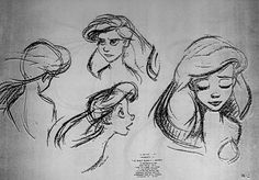 The Little Mermaid (1989) ✤    CHARACTER DESIGN REFERENCES   キャラクターデザイン   çizgi film • Find more at https://www.facebook.com/CharacterDesignReferences  http://www.pinterest.com/characterdesigh