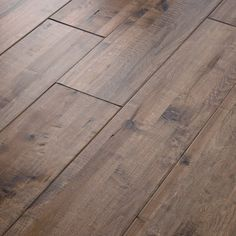 "Shaw Floors Grand Canyon Vista 8"" Composite Solid Handscraped Maple in Desert View"