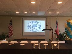 Instalación de Organizaciones Estudiantiles y Cuadro de Honor de la Esc. Dr. Albert Einstein en las facilidades de  EDP University en San Juan.