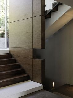 #Wooden #wall & #stairs