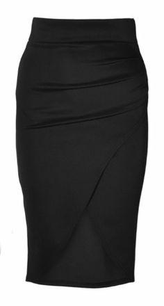 Womens High Waisted Wrap Around Midi Skirt (Mtc) (4 (uk 8), Black) vip http://www.amazon.com/dp/B00GMF1A0Q/ref=cm_sw_r_pi_dp_7hIOtb11VVBJ8CMT