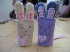 Kata Golda's inspired bunnies.