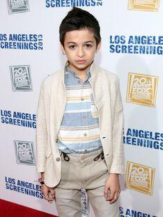 Actor J.J. Totah attends Twentieth Century Fox Television Distribution's 2013 LA Screenings Lot Party at Twentieth Century Fox Studio Lot on...