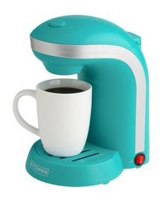 7 Electrifying Blue Coffee Makers - CoffeeSphere