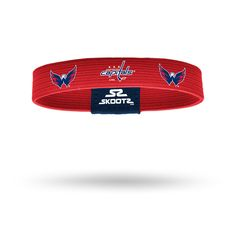 Shop for Washington Capitals NHL wristbands and fan gear. Find your teams NHL bracelets and gear today! www.SKOOTZ.com