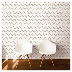 Finally Create That Statement Wall You've Always Wanted With These 20 Chevron Wallpapers Herringbone Wallpaper, Chevron Wallpaper, Vinyl Wallpaper, Peel And Stick Wallpaper, Paint Chevron, Statement Wall, Elle Decor, Home Accessories