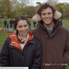 mebeforeyouofficialHave you witnessed the unbreakable chemistry between @mrsamclaflin and @emilia_clarke yet? See how they bring their characters to life in #MeBeforeYou, now playing!