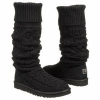 http://Amazon.com: UGG Australia Over the Knee Twisted Cable Womens Boot: Shoes