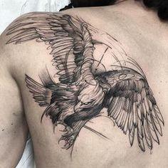Águia do Miguel valeu man Tattoo shared by fredao_oliveira