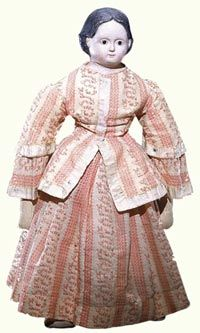 Victorian Dolls, Victorian Traditions, The Victorian Era, and Me: The White House Doll