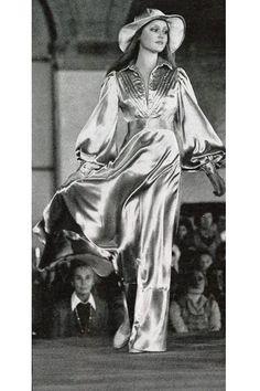 Ingrid Boulting Vogue Italia, 1973.