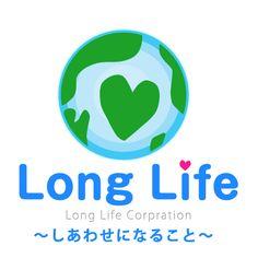 株式会社ロングライフの経営理念のひとつである「しあわせになること」お客様、ロングライフの社員、そして地球に生きる人々を「感謝と幸せ」でいっぱいにしたいという思いを、ロゴマークにしました。