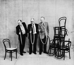 Michael Thonet, Chair No. 14 (1859) via:    Probably the single most commercially successful chair ever produced (50 million sold between 1859 and 1930), No. 14 embodies the radical developments of Michael Thonet's pioneering steam bending process, which paved the way for mass-produced furniture