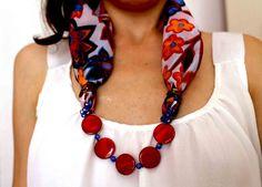 Modulperlenketten - Ring Halskette Silk Rackel - ein Designerstück von…