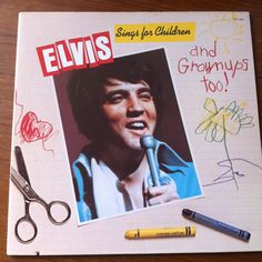Elvis Presley Sings For Children and Grownups Too! Vinyl Record LP 1978 RCA…