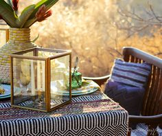 DIY lanterns Centerpieces, Table Decorations, Warm Autumn, Fall Weather, Tribal Prints, Place Settings, Looking Stunning, Tablescapes, Lanterns