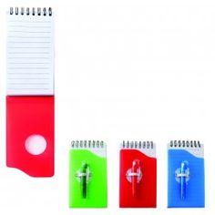 SKIN-Mini libreta de plásticocon bolígrafo incluido