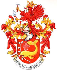 Wahlgren - Emblazon by Andrew Stewart Jamieson Mystery Of History, Wolf Howling, Family Crest, Coat Of Arms, Art World, Animals And Pets, Badge, Medieval, Flag