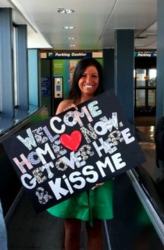 Military Homecoming. I would never be able to marry someone in the military. Ever.