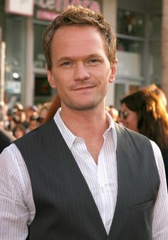 Neil Patrick Harris: I've been in love with this guy since Doogie Howser. And yes I know he's gay. Doesn't make him less hawt! ;)