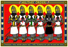 FEATURES THE MILITARY ORDERS PRAYING TO GOD ON A 13X19 POSTER.