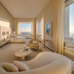 The 432 park avenue sky scraper is situated in new york and it is the tallest residential building of the world. here are some 432 park avenue interiors which you should definitely see! Dream Home Design, Home Interior Design, Color Interior, Luxury Interior, Luxury Penthouse, New York Penthouse, Dream Apartment, Penthouse Apartment, Apartment Interior