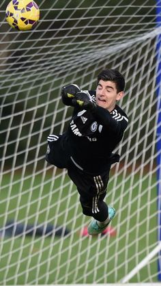 Thibaut Courtois, young and only gets better