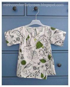 mi rincón de mariposas: Una camisa tipo kimono