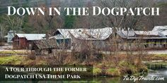 Take a tour of Dogpatch USA as it appears today.  Down In The Dogpatch - A Tour. | Tie Dye Travels with Kat Robinson