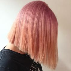 PINK TO PEACH OMBRÉ