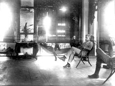 Lawton and his aides relaxing at his headquarters, Baliwag, 1899 Emilio Aguinaldo, American War, May 7th, Photo Archive, Archipelago, Vintage Pictures, Manila, Cool Photos