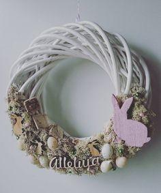 #wianeknadrzwi #wielkanoc #zajączek #alleluja #easter #wreath #rabbit