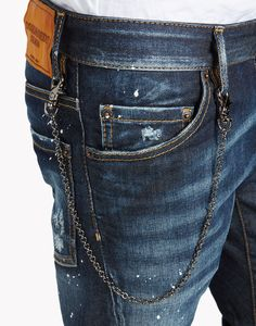 Dsquared2 Sexy Twist Jeans, 5 Pockets Men - Dsquared2 Online Store
