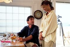 Michelle Pfeiffer & Mel Gibson in Tequila Surise 1988