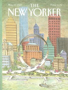 The New Yorker - Monday, May 29, 1989 - Issue # 3354 - Vol. 65 - N° 15 - Cover by : John O'Brien