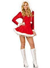 d09d7d68a19 Adult Sleigh Belle Sexy Christmas Costume Reindeer Costume