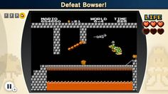 Screenshot 7 of 7 from the #SuperMarioBros The Lost Levels challenges of #NESRemix2 for #WiiU  Check out our video and walkthrough @ http://www.superluigibros.com/super-mario-bros-the-lost-levels-challenges-in-nes-remix-2