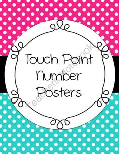 Touch Point Posters from Shaunas Shop on TeachersNotebook.com -  (56 pages)  - Touch Point Posters in multiple colors